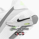 Nike 休閒鞋 Air Max SC GS 白 黑 螢光綠 氣墊 女鞋 大童鞋 慢跑 【ACS】 CZ5358-105
