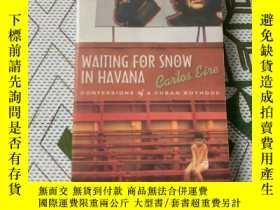 二手書博民逛書店waiting罕見for snow in havanaY2062