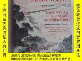 二手書博民逛書店英文書;ENCYCLOPEDIA罕見OF CHINA TODAY