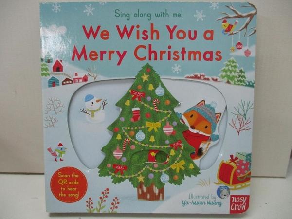 【書寶二手書T1/電玩攻略_DZD】Sing Along With Me! We Wish You a Merry Christmas