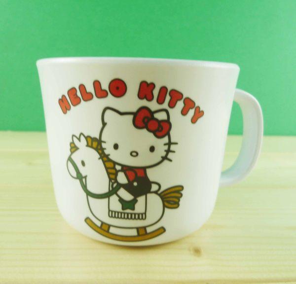 【震撼精品百貨】Hello Kitty 凱蒂貓~造型杯子~木馬