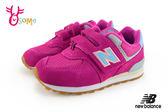 New Balance 574 小童運動鞋 麂皮復古慢跑鞋 N8596#粉紅◆OSOME奧森童鞋