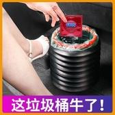 現貨 折疊水桶車載洗車多功能收縮桶便攜式戶外旅行釣魚桶汽車用雜物筒 聖誕裝飾8折