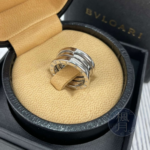 BRAND楓月 BVLGARI 寶格麗 11G 白金 三圈 B.ZERO1 戒指 三環 配件 配飾 經典