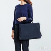 簡約筆電包 手提包男女公文包電腦包學生休閒手提包包  yu4886【艾菲爾女王】