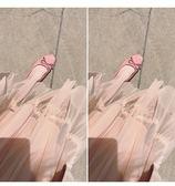 2019新款正韓百搭冬夏季方頭芭蕾舞豆豆鞋淺口蝴蝶結平底仙女單鞋【全館免運】