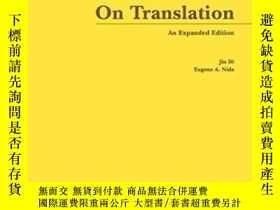 二手書博民逛書店On罕見Translation (an Expanded Edi