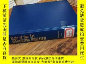 二手書博民逛書店State罕見of the Art Marketing Rese