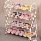 鞋架 簡約現代經濟型鐵藝宿舍拖鞋架子收納小鞋架鞋櫃LX 交換禮物