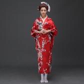 日本和服女浴衣袍傳統日式和服表演服裝【奇趣小屋】