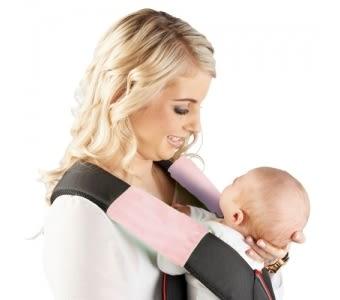 紐西蘭 Mum 2 Mum 機能型神奇口水墊-粉紅 口水墊x2入 背巾 背帶