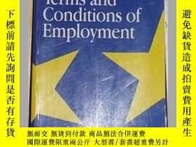二手書博民逛書店英文原版罕見Contracts and terms and co