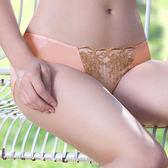 EASY SHOP-愜意午後 中腰三角褲(粉漾橙)