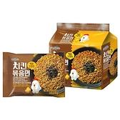 韓國 八道 Paldo 鐵板辣雞炒麵(醬油風味)130gx4包 【小三美日】團購/泡麵