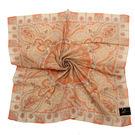 LANCETTI 優雅民族風圖騰帕巾(橘色)989083-2