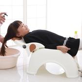 兒童可折疊躺椅寶寶洗頭椅小孩洗頭床加大號嬰兒洗發架浴床浴盆
