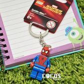 LEGO 樂高鑰匙圈 蜘蛛人 人偶鑰匙圈 鎖圈 吊飾 COCOS FG280