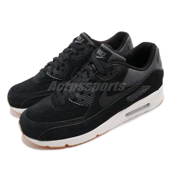 【六折特賣】Nike 休閒鞋 Air Max 90 Ultra 2.0 LTR 黑 白 男鞋 麂皮 運動鞋【PUMP306】 924447-003