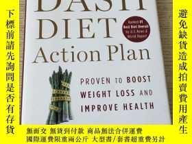 二手書博民逛書店The罕見DASH Diet Action Plan: Proven to Lower Blood Pressur