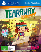 PS4 撕紙小郵差 拆封 -英文版- Tearaway Unfolded 小小大星球製作團隊