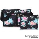 LeSportsac - Standard雙口袋斜背包-附化妝包 (夢幻花園) 7519P F936