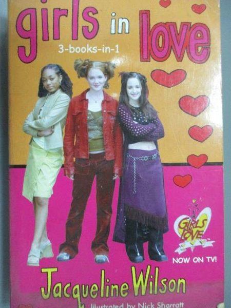 【書寶二手書T8/原文小說_IRW】girls in love_Jacqueline Wilson_3in1