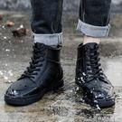 時尚雨鞋男潮低幫雨靴成人水鞋防滑工作膠鞋...