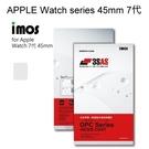 【iMos】3SAS系列保護貼 APPLE Watch series 45mm 7代 兩入組 超潑水、防污、抗刮