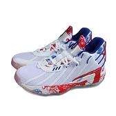 adidas Dame 7 GCA 運動鞋 籃球鞋 白/紅 男鞋 FZ1102 no911