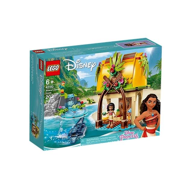 LEGO 樂高 迪士尼公主系列 Moana s Island Home 莫娜的島嶼之家 43183