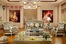 【大熊傢俱】 RE 816  新古典沙發 法式  真皮 美式新古典 凡賽宮 實木沙發  皮沙發 巴洛克 歐式沙發
