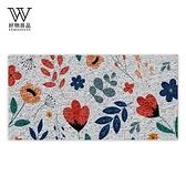 【好物良品】60×120cm可剪裁玄關刮泥地墊-幸福花卉幸福花卉_60×120cm