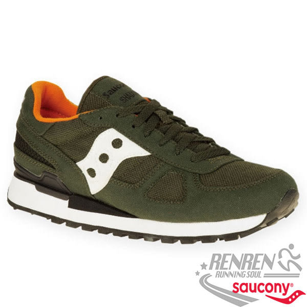 SAUCONY SHADOW ORIGINAL VEGAN 男復古鞋 (綠)