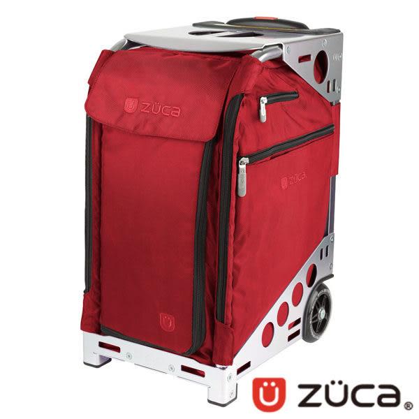ZUCA Pro Artist 商務行李箱 登機箱 ZPA-371 可坐式|拉桿|銀框 |紅布|旅行|出國