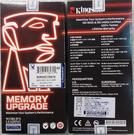 全新 Kingston 筆記型記憶體 16GB/D4/2400 NB ( KVR24S17D8/16 )