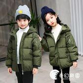 冬季新款兒童棉襖女童棉衣男童冬裝中大童加厚羽絨棉服韓版外套-奇幻樂園