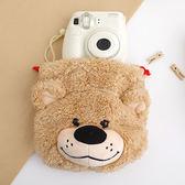 梨花熊束口包 化妝包 相機包 Suzy s zoo 束口袋《生活美學》