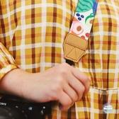 相機掛脖繩  原創插畫單眼拍立得相機肩帶掛脖通用減壓背帶掛繩 2色