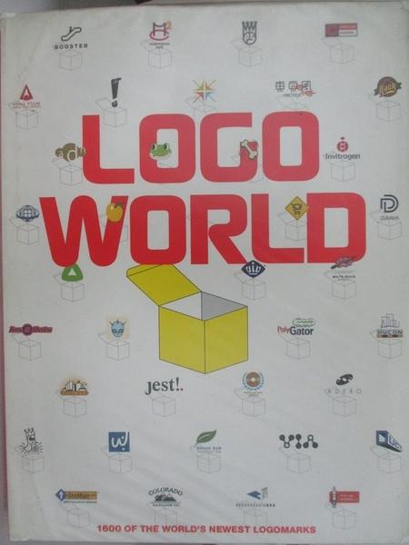 【書寶二手書T4/設計_J67】Logo world : 1600 of the world s newest logomarks
