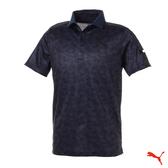 Puma Golf 日本線 男版翻領蜂巢設計POLO衫 Honeycomb 藏青 923836 01