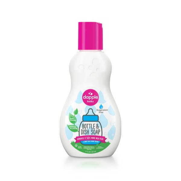 美國 Dapple 薰衣草奶瓶及餐具清潔液外出瓶 90ML(奶瓶清潔劑)