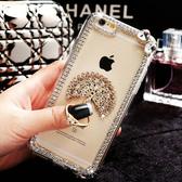 IPhone12 Pro Max 12mini iPhone11 SE2 XS Max IX XR i8 i7 Plus i6S 蘋果手機殼 水鑽殼 客製 手做 晶亮指環鑽殼