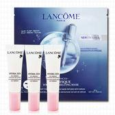 LANCOME蘭蔻 超水妍舒緩保濕精華10mlx3+肌因活性凝凍面膜28g x1