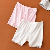 現貨 兒童爾防走光安全褲女童薄款平角內褲大童無痕三分打底褲 兒童內衣褲(8歲以上)