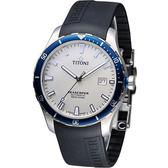 TITONI SEASCOPER系列 潮流潛水機械錶-83985SBB-RB-516