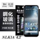 【愛瘋潮】Nokia 4.2  超強防爆鋼化玻璃保護貼 (非滿版) 螢幕保護貼