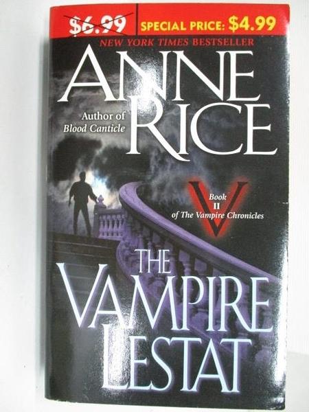 【書寶二手書T8/原文小說_BB5】The Vampire Lestat_Anne Rice