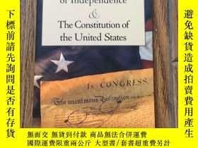 二手書博民逛書店The罕見Declaration of Independence