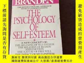 二手書博民逛書店The罕見Psychology of Self-Esteem(英文原版)Y271942 Nathaniel B