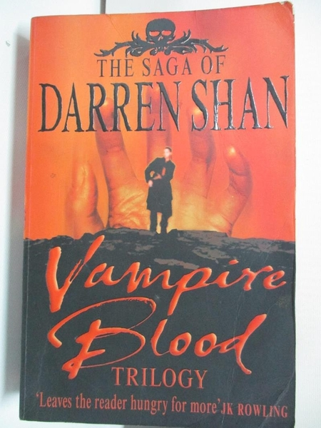 【書寶二手書T7/原文小說_AW7】Vampire Blood Trilogy (The Saga of Darren Shan)_Darren Shan